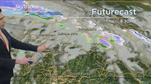 Kelowna Weather Forecast: October 28 (03:27)
