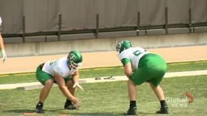 Saskatchewan Roughriders: Logan Ferland looking to expand role (01:40)