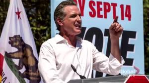 California voters set to decide on if Gov. Newsom will keep job (01:54)