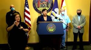 New Orleans mayor says preparations underway as Zeta expected to hit as hurricane (01:21)