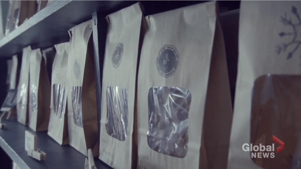 'Edmonton CFL subordinate    opens cocoa  and java  shop'
