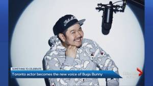 Toronto actor new voice of Bugs Bunny (02:29)