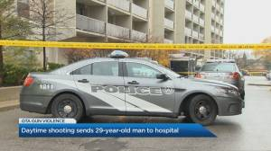 Daytime west-end Toronto shooting sends 29-year-old man to hospital