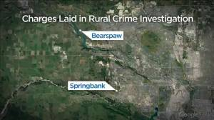 Calgary woman arrested in rural theft investigation