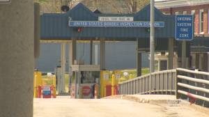 Town bordering Maine prepares for another month of U.S. travel ban