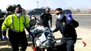 California nursing home evacuated amid fire threat