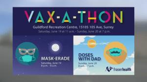 Fraser Health's 32-hour Vax-a-thon (04:02)