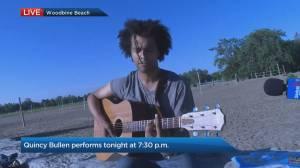 Quincy Bullen on a digital Beaches Jazz Festival