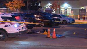 Did fight over social distancing lead to fatal shooting outside Toronto LCBO? (02:26)