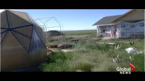 Blood Tribe aquaponics farming project could hold key to First Nations food security (01:55)