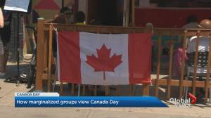 How marginalized groups view Canada Day