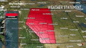 Alberta early morning weather forecast: Monday, October 7, 2019