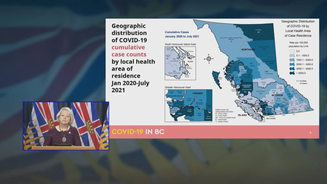 Click to play video: 'B.C. health officials take different approach with latest COVID-19 modelling data'