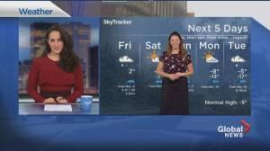Global News Morning weather forecast: February 5, 2021 (01:34)