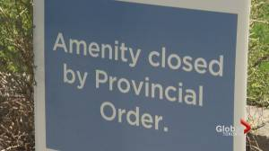 COVID-19: Ontario shutters outdoor amenities until at least June 2 (02:30)