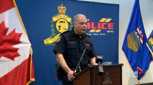 Lethbridge police chief responds to complaints involving members (02:34)