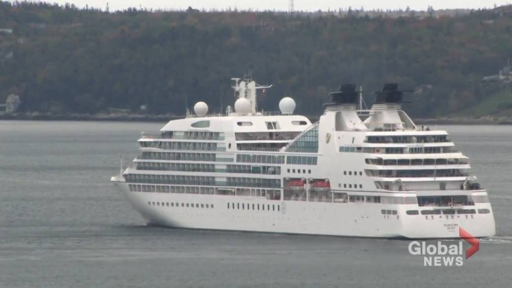Click to play video 'Revenue loss from cruise ship suspension to reach over $165M: port authority'
