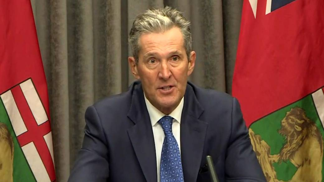 Click to play video 'Coronavirus: Manitoba premier expresses 'growing frustration' at people not following COVID-19 restrictions'
