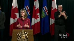 Alberta constantly assessing testing supplies for COVID-19: Hinshaw