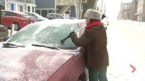 Messy mix of precipitation sweeping through New Brunswick