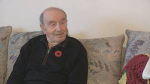 Second World War veteran, 95, recalls being injured by enemy fire