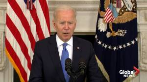 Biden backs restaurants in American Rescue Plan, comments on 'mini-revolution' within Republican party (02:30)