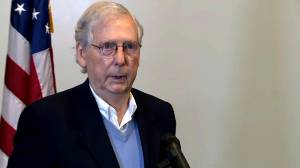 U.S. election: Mitch McConnell declines to comment on ongoing ballot count (00:40)