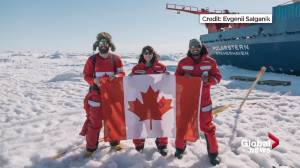 Former Albertan participates in 'MOSAiC Expedition' international Arctic climate change research project