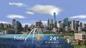 Edmonton early morning weather forecast: Tuesday, September 7, 2021 (01:57)