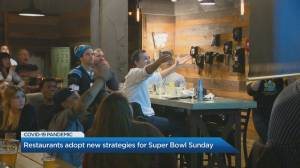 Coronavirus: Toronto restaurants adopt new strategy for Superbowl Sunday (02:12)