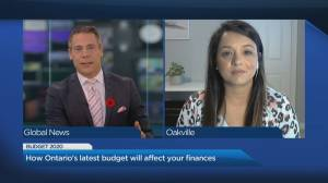 How Ontario's 2020 budget affects your household (04:39)