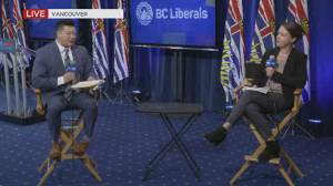 B.C. election 2020: Andrew Wilkinson faces questions about Liberal leadership (03:19)