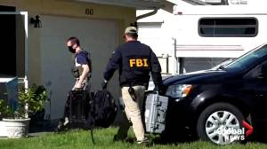Gabby Petito investigation: FBI search family home of Brian Laundrie for evidence of disappearances (02:08)