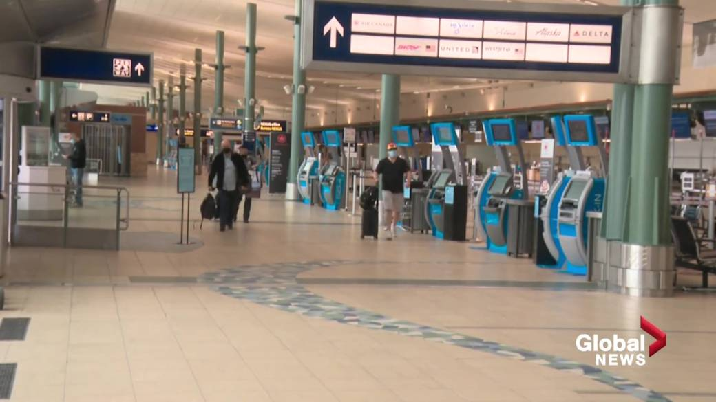 Click to play video: 'Edmonton airport working to attract lost international flights'