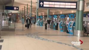 Edmonton airport working to attract lost international flights (01:53)
