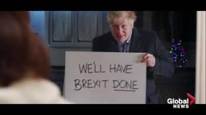 Boris Johnson parodies 'Love Actually' with Brexit campaign ad