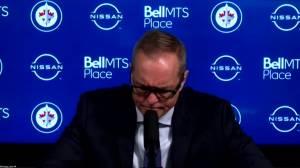 RAW: Winnipeg Jets Paul Maurice Interview Feb. 13 (06:59)