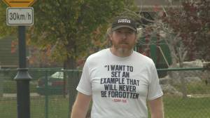 Lethbridge teacher runs full marathon in honour of Terry Fox