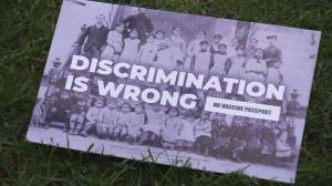 Growing chorus of calls for Vancouver-Quadra PPC candidate to resign following a controversial flyer (01:55)
