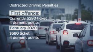 Saskatchewan increases distracted driving penalties