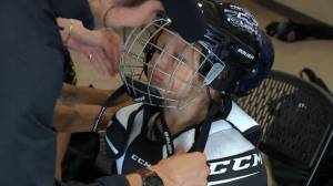 Calgary Flames program to outfit Saskatchewan Indigenous minor hockey players with new equipment (01:52)