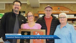 'Sweetest Bakery in Canada' takes a hit during pandemic (04:09)