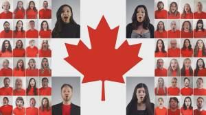 Revv52's virtual performance of 'O Canada'