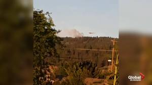 Wildfire burning near Midway, B.C. (00:37)