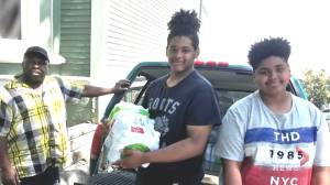East Preston family helps homeless people survive the heat wave