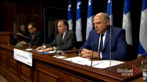 End of session at Quebec's National Assembly (01:50)
