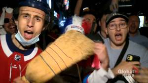 Montrealers thrilled over the Canadiens' four game sweep of the Jets (02:06)