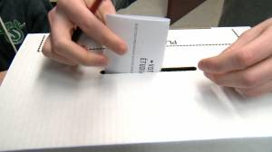 Vote before election day at advance polls or with the 'special ballot process' (01:56)