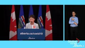 Postponing surgeries at Alberta hospitals about creating immediate capacity for COVID-19 cases (00:57)