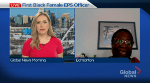 First Black female EPS officer shares her story (04:49)